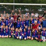 De Voetbalschool voorjaarssessie 2018 afgesloten!