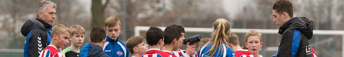 Voorlopige indeling jeugdteams per 3 juni a.s