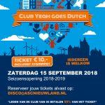 Club Yeah goes Dutch, samen met de Club van 50