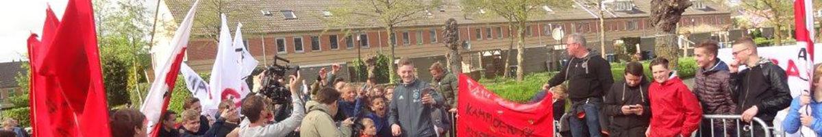 Nieuwland jeugd huldigt landskampioen Dani Hagebeuk!