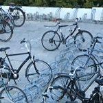 Extra aandacht voor het stallen van de fietsen
