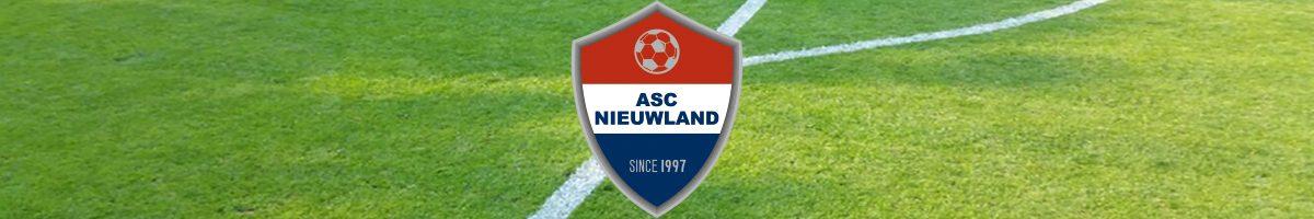 Nieuwe clublogo ASC Nieuwland onthuld