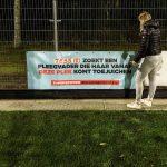Spandoek voor Pleegzorg Nederland
